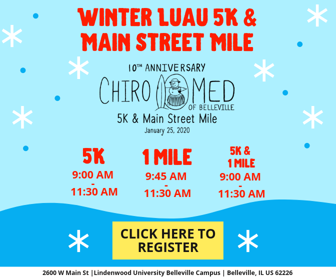 Winter Luau 5K and Main Street Mile - Registration Form